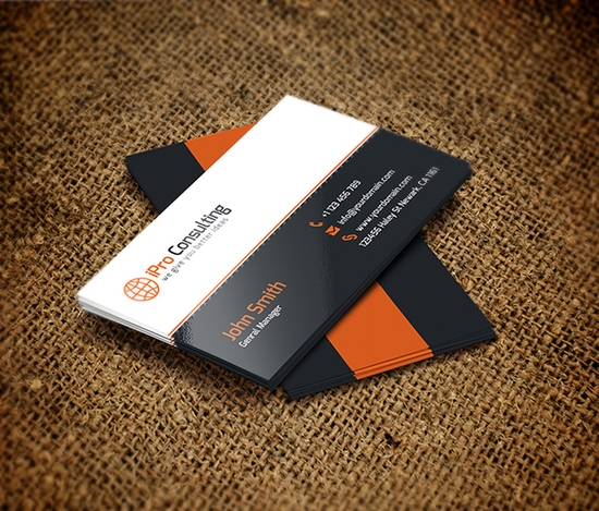 iPro Consulting Business Cards - best business cards