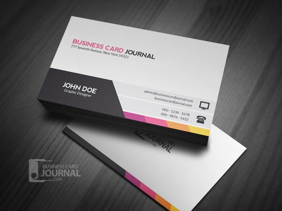 Unique & Modern Corporate Business Card Template - business cards online