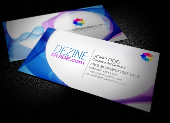 Beautiful Business Card templates - free business card templates