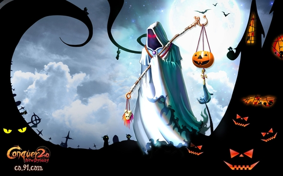 Halloween Witch - wallpapers
