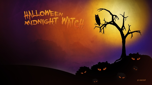 Halloween Midnight watch - wallpapers