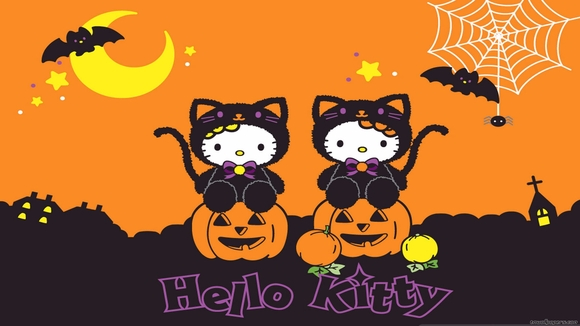 Hello Kitty Halloween - wallpaper