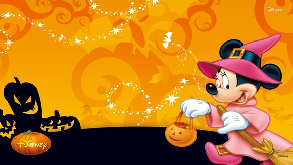 Mickey Mouse Halloween - wallpaper download