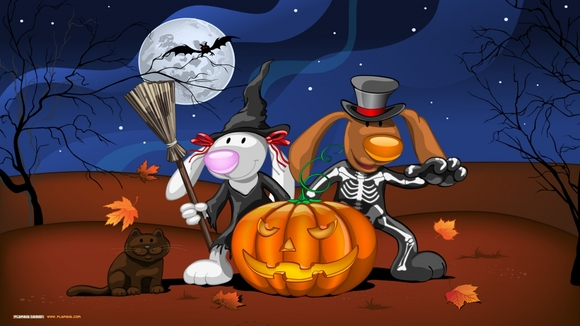 Halloween Cartoon - wallpaper download