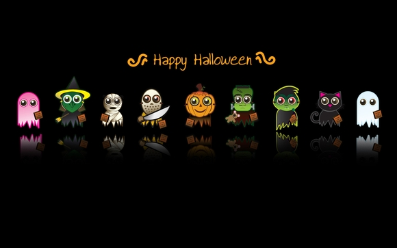 Happy Halloween - free halloween wallpaper