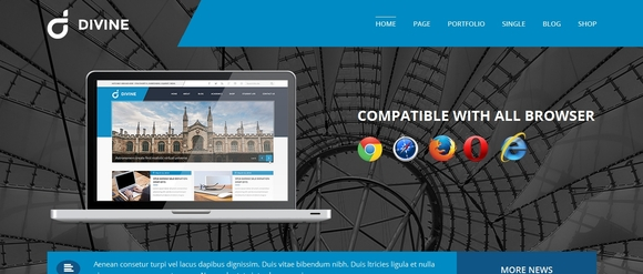 Divine - html5 template